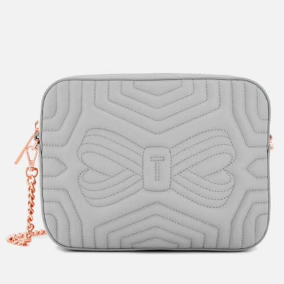 Ted Baker Handbags - Ted Baker Quilted Leather Crossbody Bag